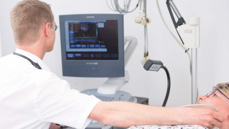 ärztliche Untersuchung/Diagnostik